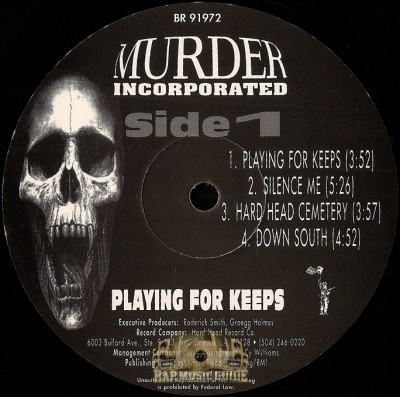 Murder Incorporated - Playing For Keeps