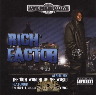 Rich The Factor - The 10th Wonder Of The World