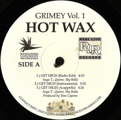 Grimey Vol. 1 - Hot Wax