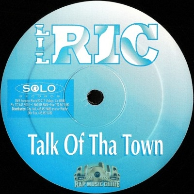 Lil Ric - Talk Of Tha Town / Trunk Rump