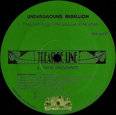 Underground Rebellion - They Ain't Diggin' The Way We Came At'em