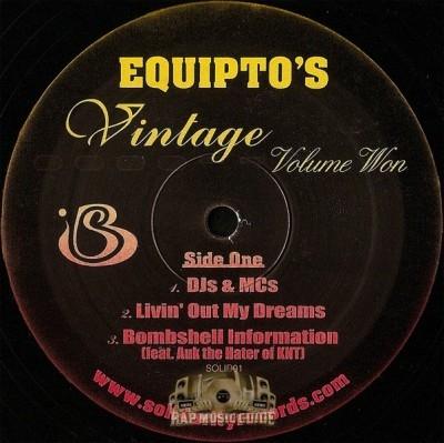 Equipto - Vintage Volume Won