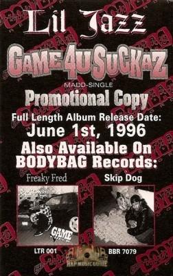Lil Jazz - Game4usuckaz: Madd-Single