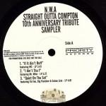 N.W.A - Straight Outta Compton 10th Anniversary Tribute Sampler