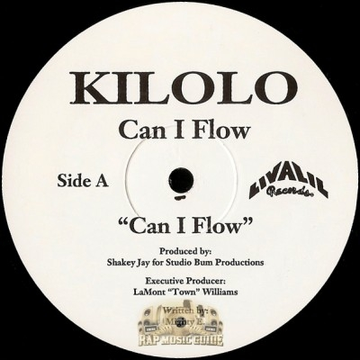 Kilolo - Can I Flow / Itch Wanna Be Me