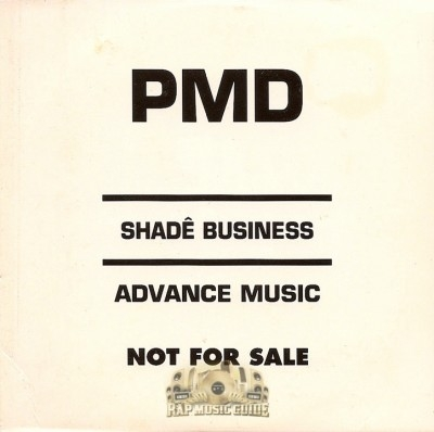 PMD - Shade Business (Advance Music)