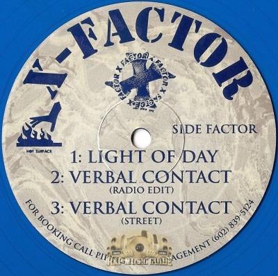 X-Factor - Light Of Day / Verbal Contact / Splash