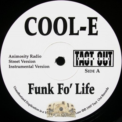 Cool-E - Animosity / Dodge City Remix