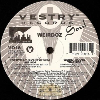 Weirdoz - Everyday (Everywhere)