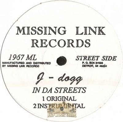 J-Dogg - In Da Streets