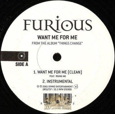 Furious - Want Me For Me