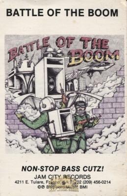 Battle Of The Boom - Non-Stop Bass Cutz!