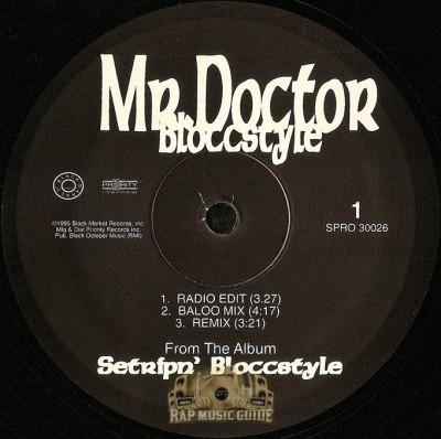 Mr. Doctor - Bloccstyle