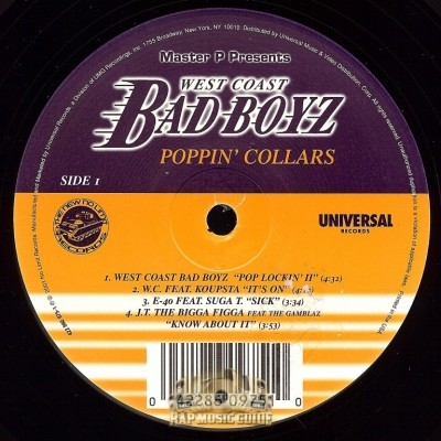 West Coast Bad Boyz - Poppin' Collars