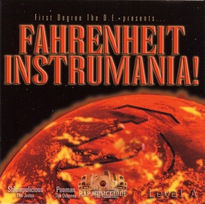 First Degree The D.E. - Fahrenheit Instrumania - Level A