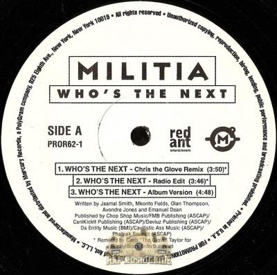 Militia - Who's The Next