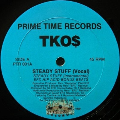 TKO$ - Steady Stuff / Frisco Nights