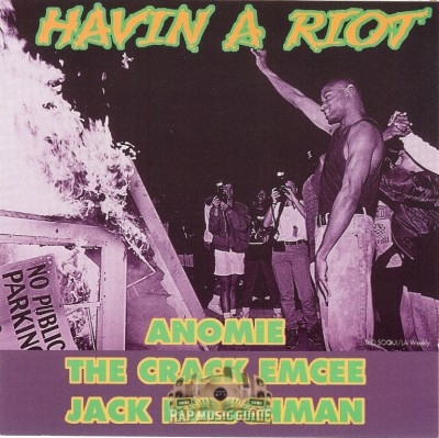 Anomie, The Crack Emcee, Jack Hirschman - Havin A Riot