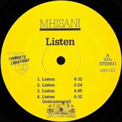 Mhisani - Listen / Youth