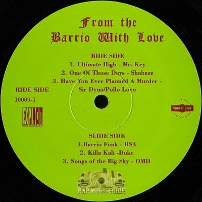 Darkroom Familia - From The Barrio With Love