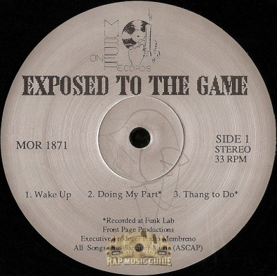 M.O.G. - Exposed To The Game