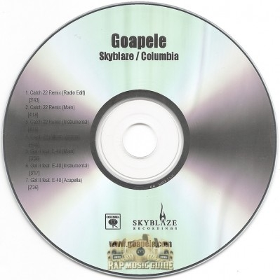 Goapele - Catch 22 Remix / Got It Remix