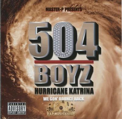 504 Boyz - Hurricane Katrina We Gon' Bounce Back