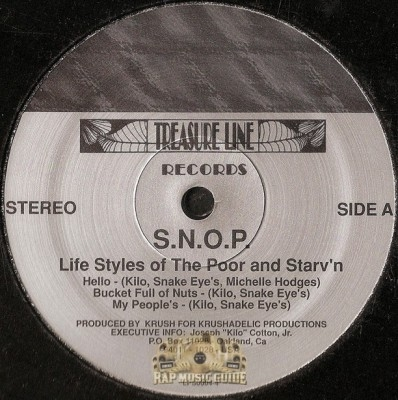 S.N.O.P. - Life Styles Of The Poor & Starv'n