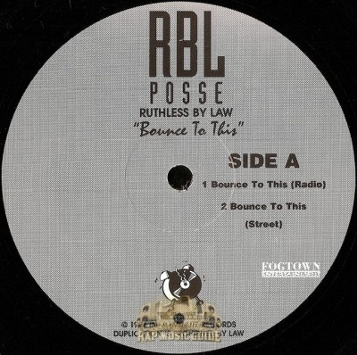 R.B.L. Posse - Bounce To This