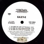 Eazy-E - 24 Hrs To Live/ 24 Hrs To Live