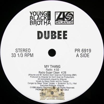 Dubee - My Thang