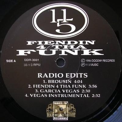 11/5 - Fiendin 4 Tha Funk EP