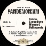 Pandemonium - Baller's Night Out / Rider's Ride