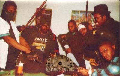 The Black Hoods - Six G's N Countin'