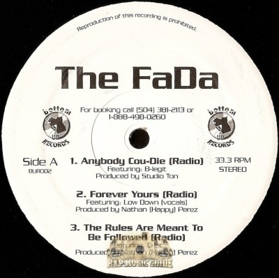 The Fada - Anybody Cou-Die