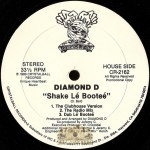 Diamond D - Shake Le Bootee / Do U Wanna Battle?