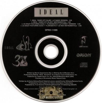 Ideal / 3X Krazy - Inner City Blues / Flowamatic 9