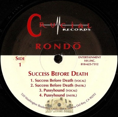 Rondo - Success Before Death