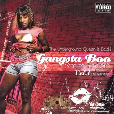 Gangsta Boo - Street Ringers Vol. 1 The Mix Tape