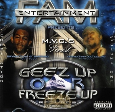 Geez Up Or Freeze Up Records - Compilation Volume One