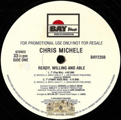 Chris Michele - Ready, Willing and Able