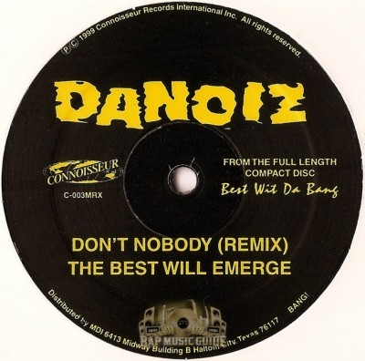 Danoiz - Best Wit Da Bang