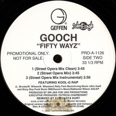 Gooch - Fifty Wayz