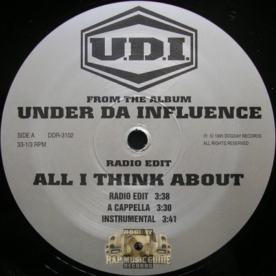 U.D.I. - All I Think About / Tennis Skirts