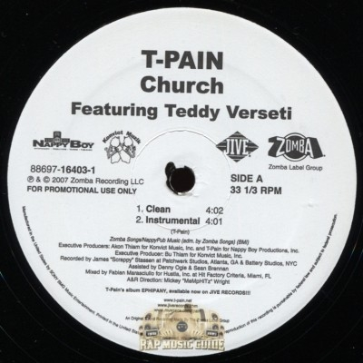T-Pain - Church