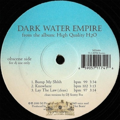 Dark Water Empire - High Quality H2O EP
