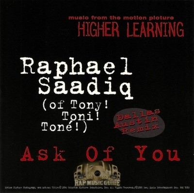 Raphael Saadiq - Ask Of You