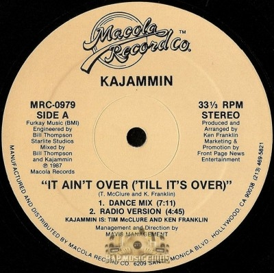 Kajammin - It Ain't Over ('Till It's Over)