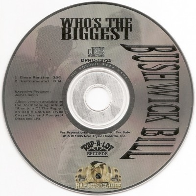 Bushwick Bill - Who's The Biggest