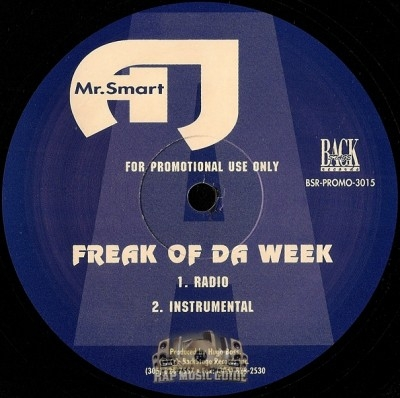 Mr. AJ Smart - Freak Of Da Week / Get Mine